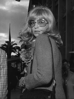 Click through for photos of Monica Vitti and her excellent Italian style.