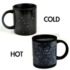 The Unemployed Philosophers Guild Heat Changing Constellation Mug - Add Coffee or Tea and 11 Constellations Appear - Comes in a Fun Gift Box Take My Money, Things To Buy, Stuff To Buy, Cute Mugs, Mug Cup, Constellations, Coffee Cups, Tea Pots, Best Gifts