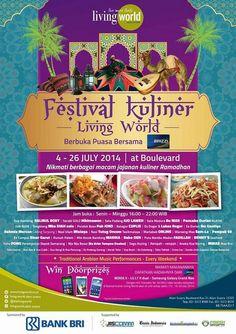 Festival Kuliner, 4 - 26 July 2014 at Living World @thelivingworld