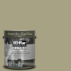 BEHR Premium Plus Ultra 1-gal. #PPU9-22 Cricket Semi-Gloss Enamel Interior Paint-375401 at The Home Depot