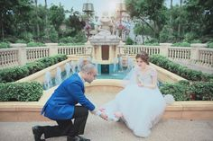 This Disney-Themed Wedding Is Blowing Our Minds
