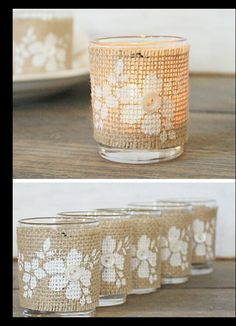 Burlap, Rustic wedding .