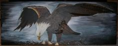 Therese Walland | paintings eagle