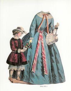 The Lady of London, circa 1850