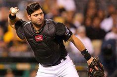 Receptor Francisco Cervelli de los Piratas despertó con el madero #Beisbol #Deportes