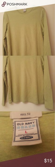 Old Navy Sages Top Cotton, in great condition. Long sleeve. Old Navy Tops
