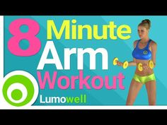 8 Minute Arm Workout to Tone and Lose Arm Fat - YouTube