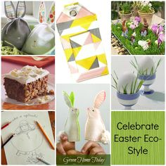 Easter is right around the corner. Here is a a short list of how you can take your traditions and make them a little more eco-healthy this year.  Green Home Today: Celebrating Easter Eco-Style