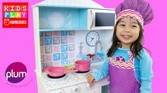 Kitchen Playset Playset for Kids | Playtime with Elise | Kids Play O'Clock