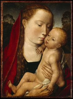 Hans Memling (Flemish c. 1433 - 1494) Virgin and child http://www.english-heritage.org.uk/remote/www.english-heritage.org.uk/content/properties/rangers-house-the-wernher-collection/portico/2391224/rangers-memling?maxwidth=3200&maxheight=3200&mode=none&scale=downscale&cache=always&quality=60&anchor=middlecenter