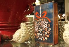 """Houston Llew's NEWEST Holiday Spiritile is here! #160, """"Adorn"""", is our most favorite Christmas Spiritile he's ever created! This copper and glass fused decorative art piece is a must add to your current collection, or a perfect gift for your loved one! This piece features the quote """"The more we s..."""