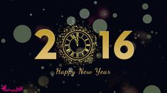 Happy New Year 2016 Desktop Wallpaper | Poetry
