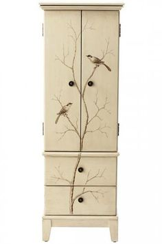 Chirp Jewelry Armoire - Jewelry Organization - Storage & Organization | HomeDecorators.com