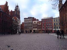Toruń, old city area.