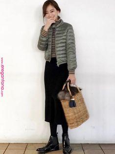 KIRI|GOUT COMMUNのダウンジャケット/コートを使ったコーディネート GOUT COMMUNのダウンジャケット/コートを使ったKIRIのコーディネートです。WEARはモデル・俳優・ショップスタッフなどの着こなしをチェックできるファッションコーディネートサイトです。 Winter Fashion Outfits, Chic Outfits, Autumn Winter Fashion, Japanese Fashion, Asian Fashion, Tokyo Street Style, Tokyo Fashion, Womens Fashion Online, Timeless Fashion