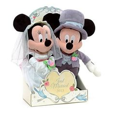 Mickey and Minnie Wedding | Mickey and Minnie Mouse Wedding Bears | Anything Disney