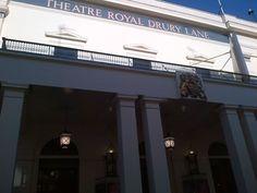 Theatre Royal Drury Lane - das Theater, an dem Matt arbeitet und wo Jamie 8 Mal die Woche als Pirate King auf der Bühne steht