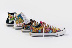 Eu quero toda a nova coleção dos tênis de Os Simpsons para a Converse!