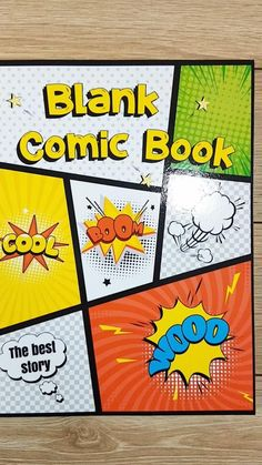 A blank comic book template to create awesome stories for kids and adults. 120 pages of stunning and unique templates designed to meet the highest demands of both small and large artists, as well as beginners and advanced draftsmen. Blank Comic Book, Make A Comic Book, Comic Book Drawing, Comic Book Pages, Comic Books, Create Your Own Comic, Draw Your, Awesome Stories, Comic Book Template