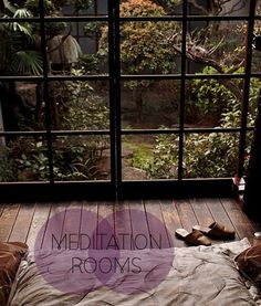 ahhh i want a meditation room. except i want a climbing wall in mine.