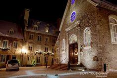 Silvy Tousignant photographie - Quartier du Petit Champlain, église Notre-Dame-des-Victoires, Québec, QC