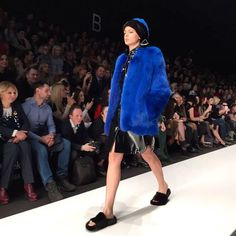 Eclectic colored furs at @MexaEkaterina show yesterday in Moscow. / В новой коллекции Меха Екатерины - яркие шубы из лисы и норки с аппликациями меховые тапочки и шапки. Виш-лист на следующую зиму открыт!  via VOGUE RUSSIA MAGAZINE OFFICIAL INSTAGRAM - Fashion Campaigns  Haute Couture  Advertising  Editorial Photography  Magazine Cover Designs  Supermodels  Runway Models