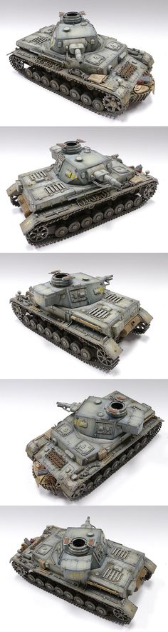 Panzer IV   unknown scale