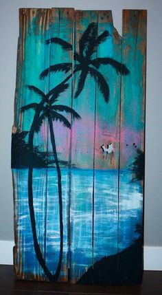 """Find out additional info on """"metal tree art projects"""". Browse through our internet site. Wood Pallet Art, Pallet Painting, Painting On Wood, Painting Trees, Do It Yourself Inspiration, Fence Art, Metal Tree Wall Art, Tree Wall Decor, Tree Sculpture"""
