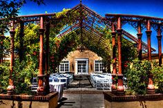 New Mexico Art - Hotel Albuquerque Wedding Pavilion  by David Patterson