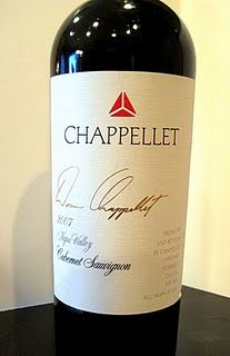 Chappellet Signature Cabernet 2007, always sold too young!