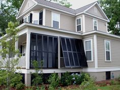 outdoor privacy shutters for porch Outdoor Shutters, Cedar Shutters, House Shutters, Diy Shutters, Exterior Shutters, Ranch Exterior, Exterior Paint, Bermuda Shutters, Bahama Shutters