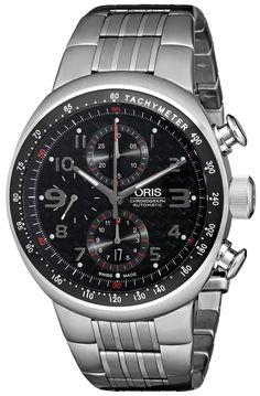 Oris Men's 0167475877264-0782870 Analog Display Swiss Automatic Silver Watch