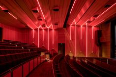 Lighting and acoustics combine to create a stunning theatre space. Corpus Christi College, Acoustic Design, Theatre, Space, Lighting, Projects, Home Decor, Floor Space, Log Projects