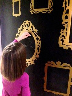 awkward wall gets a chalkboard paint makeover, chalkboard paint, crafts, diy, home decor, wall decor