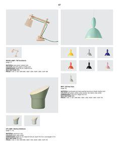 Muuto  Mobiliário e Iluminação - Catálogo Geral