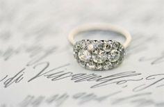 Antique Wedding Ring ♥ Vintage Wedding Ring