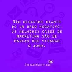 Nossa dica da semana :) #DicaDeMarketing #BampDM #Marketing e #Design