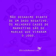 Nossa dica da semana :) #DicaDeMarketing #BampDM #Marketing e #Design