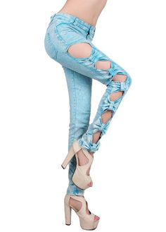 ripped jeans for women 15 | Womens Jeans Tall Skinny Stretch Cute