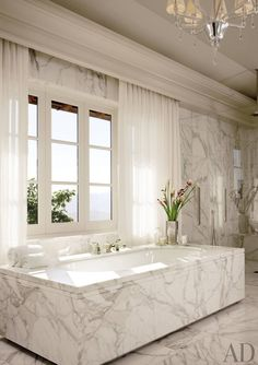 Contemporary Bathroom by The Wiseman Group and B.A.R. Architects in Napa Valley, California