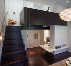 Manhattan 425 sq ft Micro Loft Apartment Renovation Project