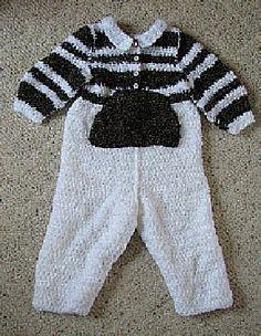 Boy's Romper free crochet pattern