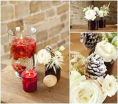 Gorgeous Christmas Wedding Inspiration   Cecelina Photography - Nu Bride Flowers by blue sky flowers