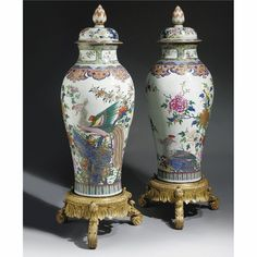 chinese works of art Lotus Bud, Oriental Furniture, Chinese Ceramics, Antique Lamps, Small Birds, Qing Dynasty, China, Chinese Art, Places