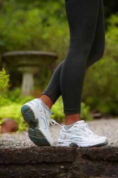 845b6c4add Orthaheel Women s Walker - White  amp  Blue  Ladiesgolf Sneakers For  Plantar Fasciitis