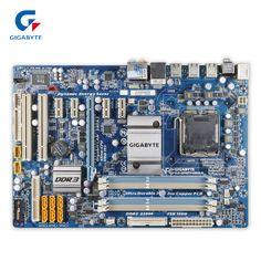 Original Gigabyte GA-EP45T-UD3LR Desktop Motherboard EP45T-UD3LR P45 Socket LGA 775 DDR3 ATX 100% Fully Test