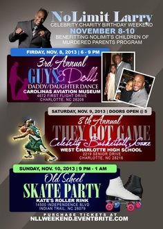 Fuzion Force will entertain the crowd at No Limit Larry's B-Ball Game! Daddy Daughter Dance, Got Game, Birthday Weekend, Hip Hop Dance, Larry, Charity, Crowd, Entertainment, Celebrities
