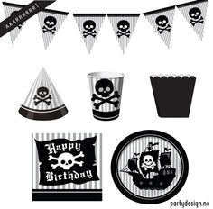 http://partydesign.no #bursdag #partydesign #pirate #pirat