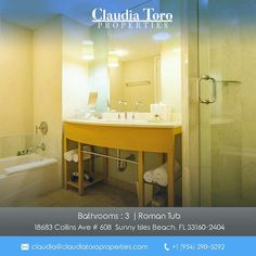 Price:$669,000  Enjoy spectacular ocean & Intracoastal views from this amazing 2 bed, 3 bath condo in luxury resort. Great for investors to generate revenue! Fully furnished. walk-in closets, washer/dryer inside unit, TV's & patio furniture. Ocean side infinity edge pool, beach cabanas, fitness center spa, restaurant, remodeled lobby bar, rooms service, business center, concierge, and 24-hr security. Maintenance includes utilities. Close to Aventura Mall & Bal Harbour.  Contact us…