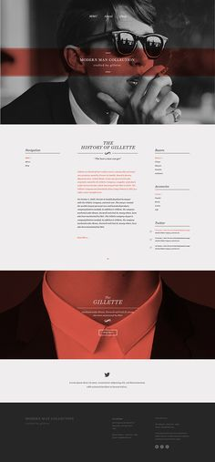 Gillette - The Modern Man Collection on Behance